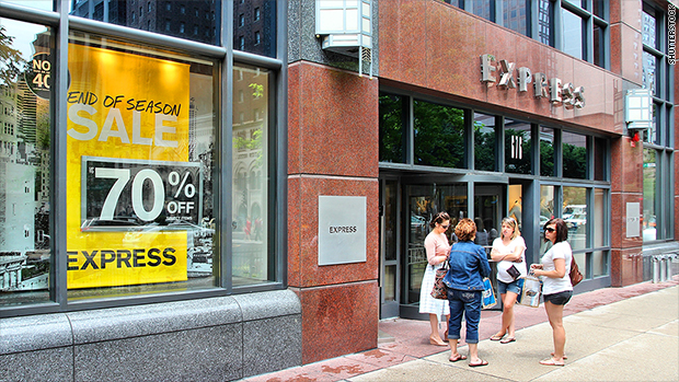 Express tanks 25% on awful earnings