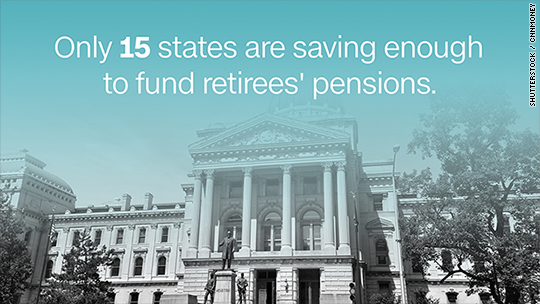 States face a $1 trillion pension shortfall