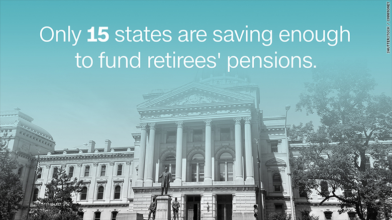 States face a $1 trillion pension shortfall