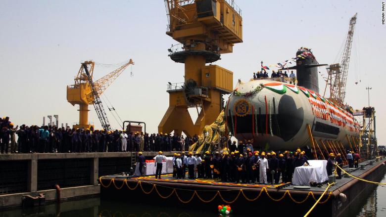 india submarine