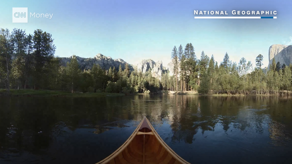 Take a VR trip to Yosemite National Park