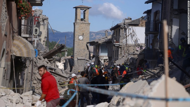 One Canadian among victims of Italian quake: Dion