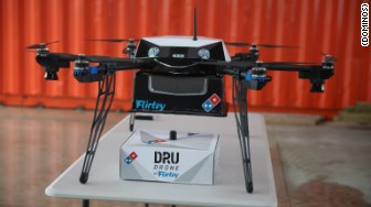 dominos drone delivery