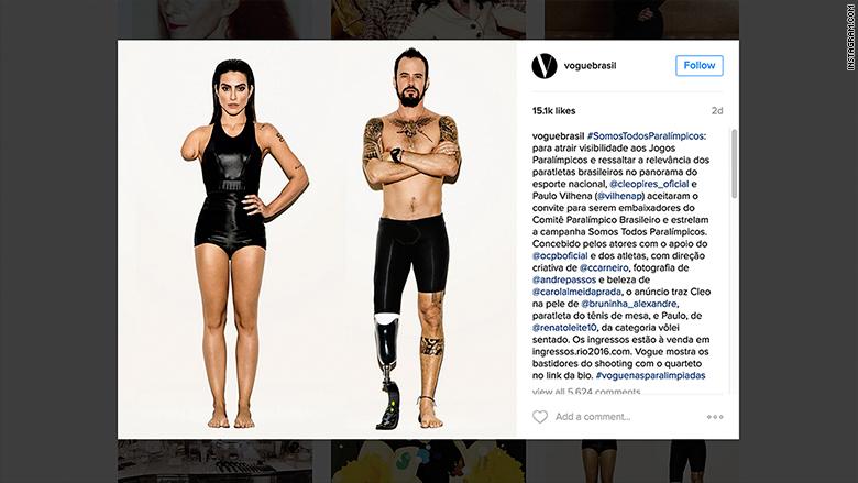 brasil vogue paralympics