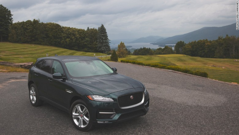 2017 jaguar f-pace above