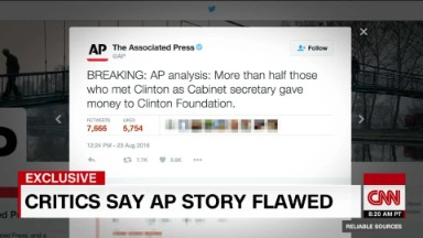 Associated Press editor: Clinton Foundation tweet was sloppy