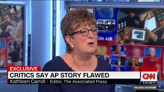 AP's Kathleen Carroll defends Clinton investigation but admits 'sloppy' tweet
