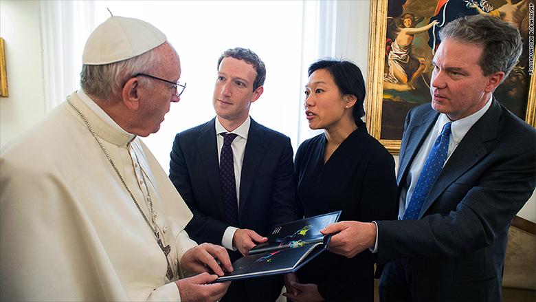mark zuckerberg pope francis 3