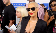 Amber Rose talks slut shaming at the VMAs