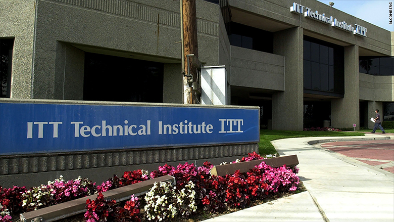 ITT stops all new student enrollment