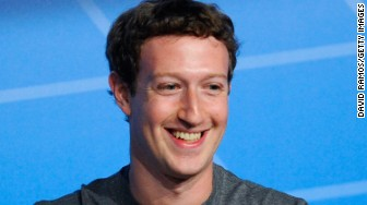 mark zuckerberg smiles