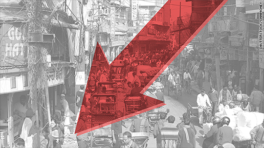 India no longer fastest-growing economy