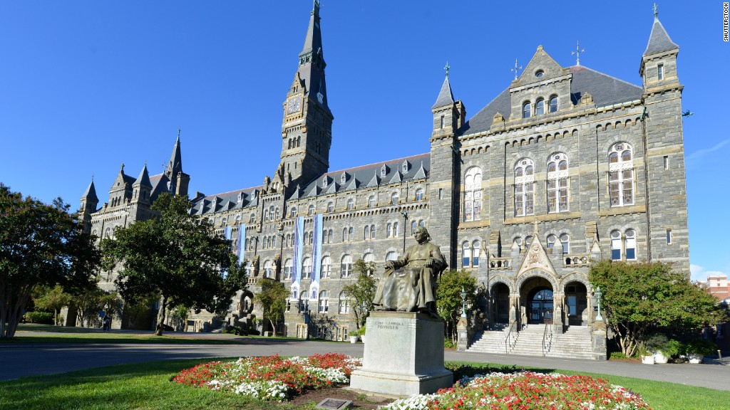 georgetown university essay Located in washington dc, georgetown university is most well known for their school of foreign service though many students from this top 25 school end up in.