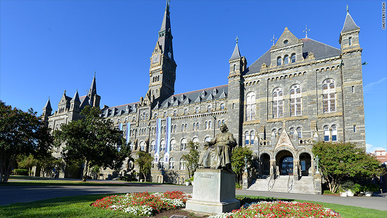 Georgetown university admissions essay