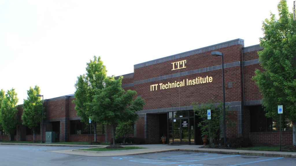 For-profit college ITT shuts down