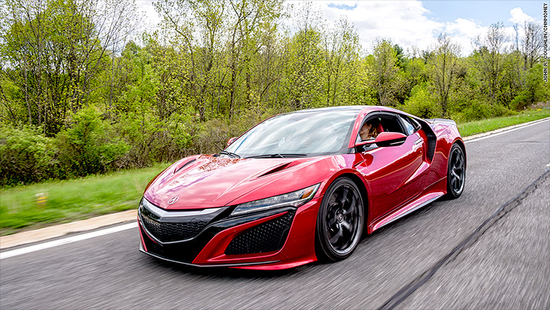 acura nsx 190 mph hybrid. Black Bedroom Furniture Sets. Home Design Ideas