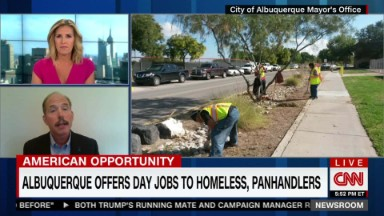 Albuquerque offers day jobs to homeless, panhandlers