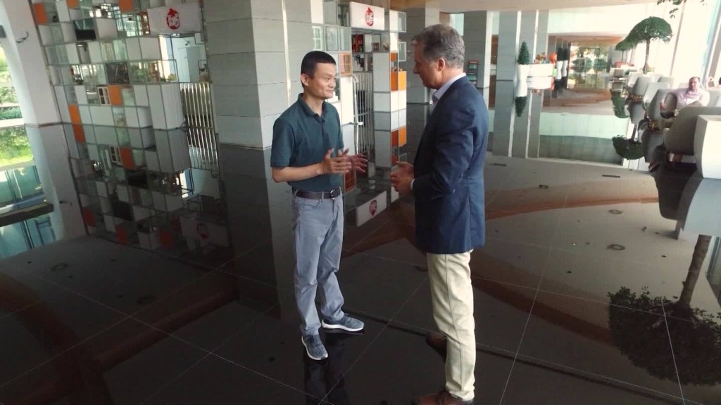 Jack Ma on doubt and Alibaba's future