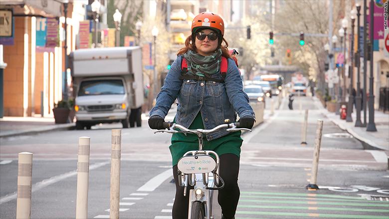 bikeshare woman