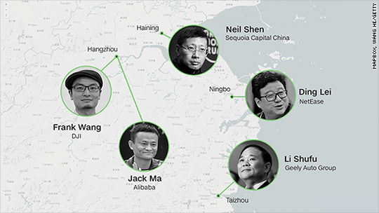 The Chinese province churning out billionaires