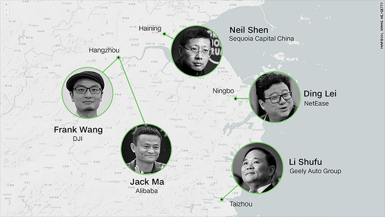 This Chinese province is churning out billionaires