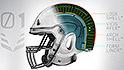 Flexible NFL helmet aims to reduce head injuries