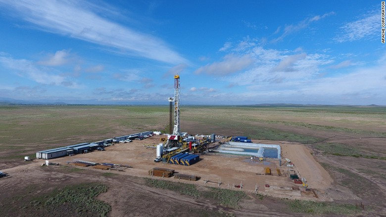 Apache oil discovery West Texas