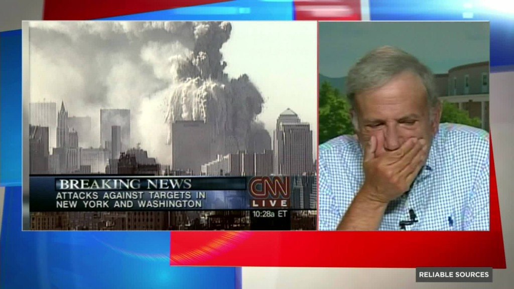 What it was like to anchor the news on 9/11