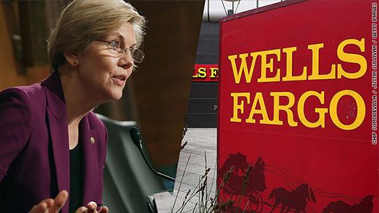 Wells Fargo CEO faces a grilling from Elizabeth Warren