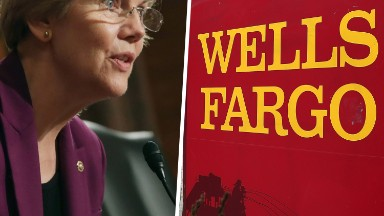 Elizabeth Warren poses threat to new Wells Fargo CEO