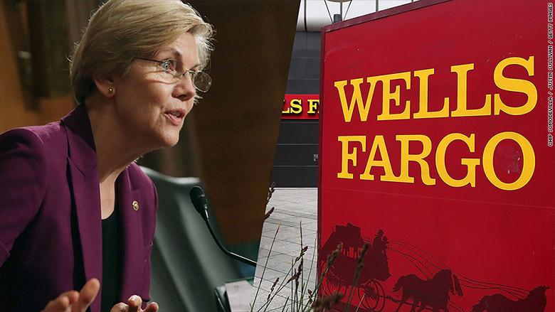 "Senator Warren calls Wells Fargo scam a ""staggering fraud"""