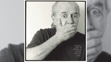 George Carlin's lost pre-9/11 routine gets new life on CD