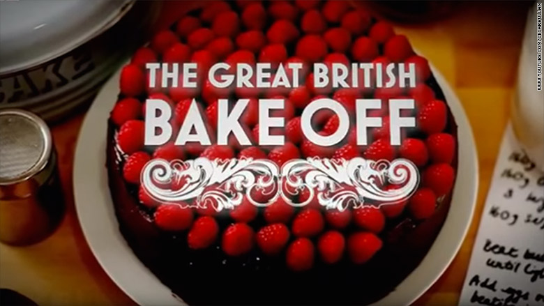 Great British Bake Off Cake Stand