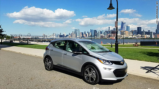 Electric Chevrolet Bolt to go 238 miles on a charge