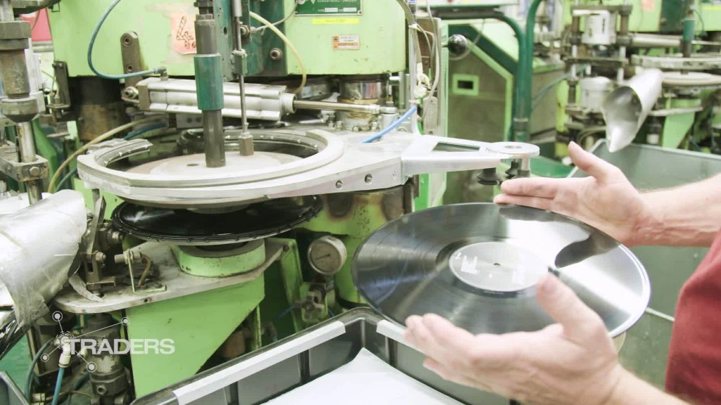 Czech businessman leads vinyl revival