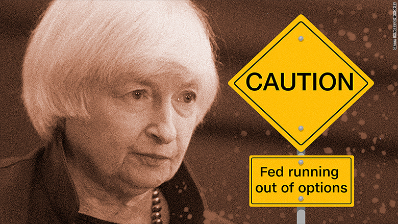 Wall Street titans worry the Fed is out of options - Sep. 13, 2016