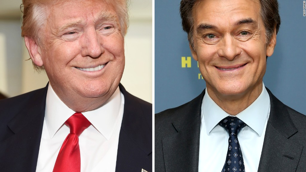 Trump surprises 'Dr. Oz Show' with physical results