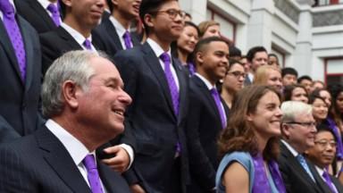 Blackstone CEO launches scholarship program to China
