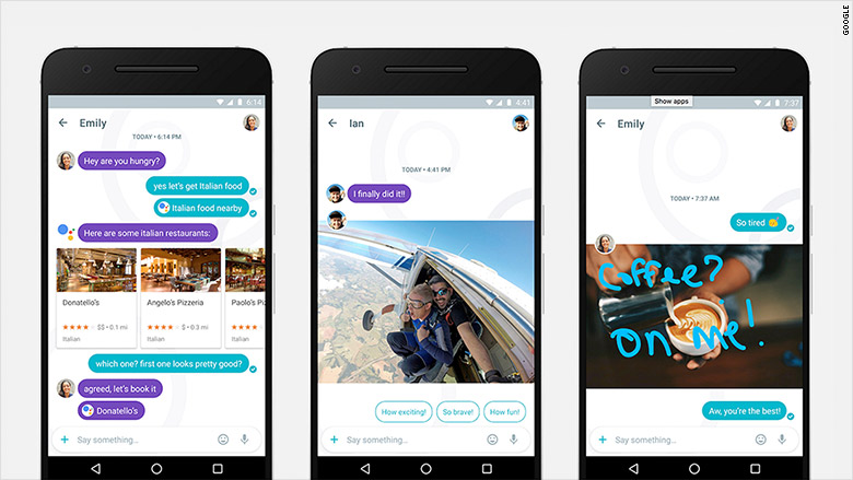 Google launches Allo — a messaging app that'll make Facebook