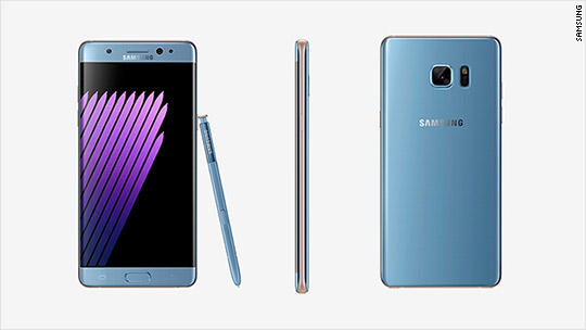 Samsung users complain about Note 7 replacement device