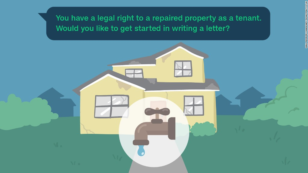 Lawyer-bot helps you force your landlord to fix your property