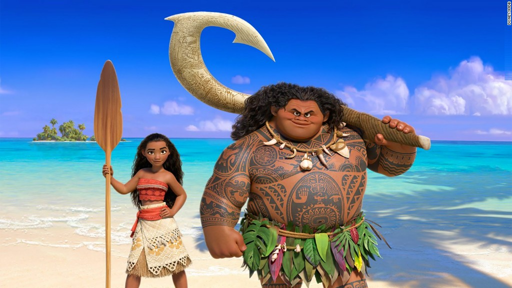 Review: 'Moana' is a feast for the eyes and ears
