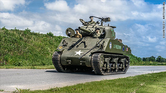 You can now buy a real D-Day tank