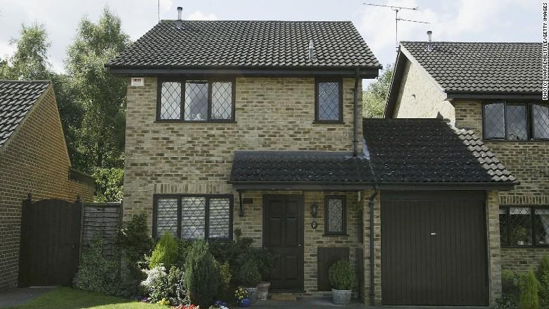 harry potter 39 s old house is for sale. Black Bedroom Furniture Sets. Home Design Ideas