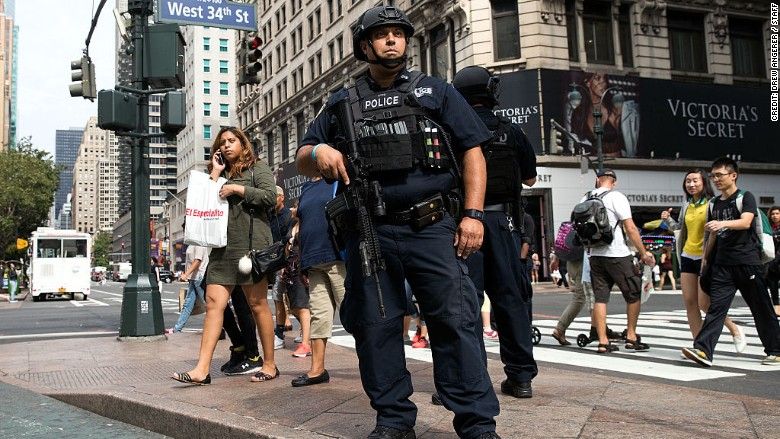 What it costs to keep new york city safe from terror for What do in nyc