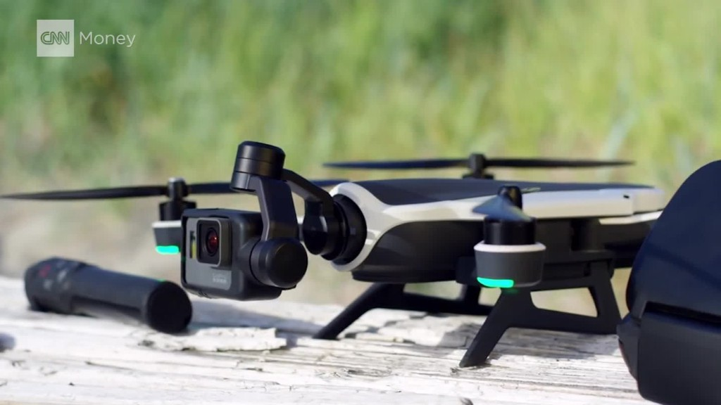 See GoPro's new foldable drone