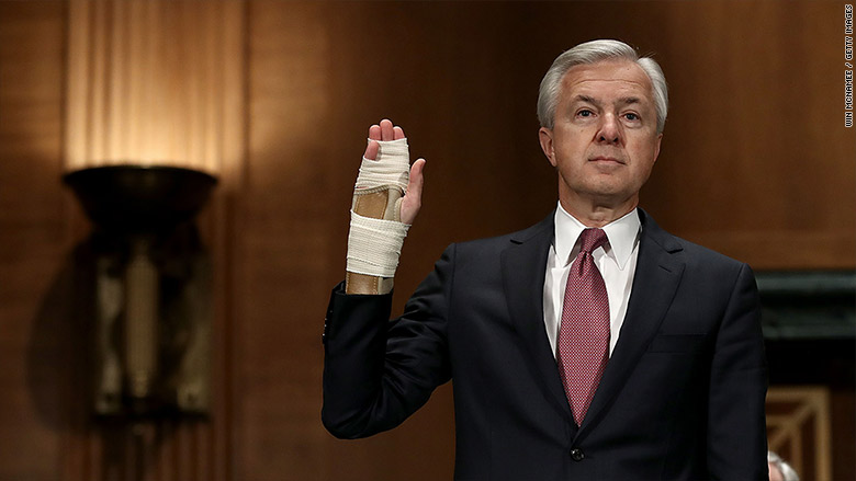 Wells Fargo CEO forfeits $41 million