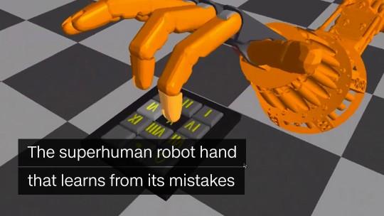 superhuman robot