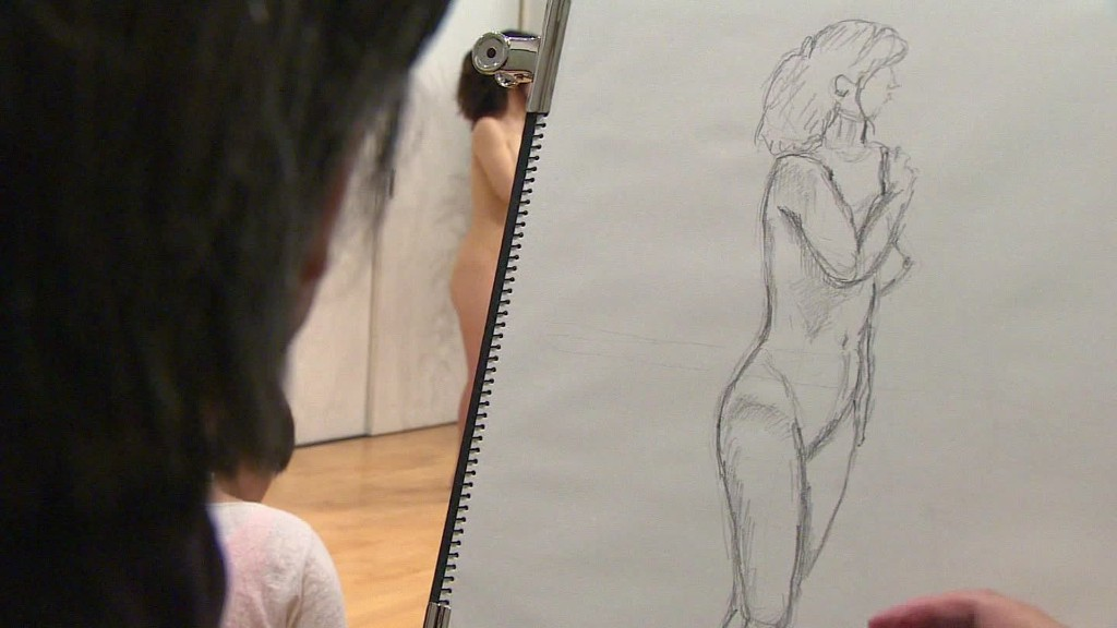 Nude art class for Japan's adult virgins