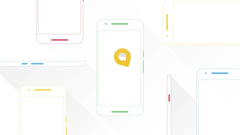 See Google's new messaging app, Allo